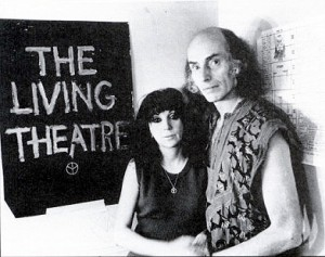 Julian Beck (1925-1985) e Judith Malina (1926-2015), cofondatori del Living Theater
