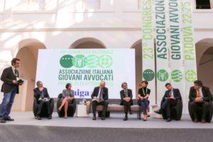 Una foto del congresso nazionale Aiga svoltosi a Padova il 22-25 ottobre 2015.