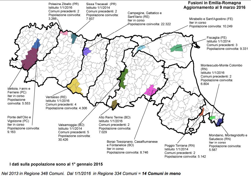 Fonte: Regione Emilia-Romagna