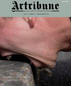 """La copertina di maggio-giugno 2016 di """"Artribune"""" con in primo piano un'opera di Marco Ceroni"""