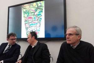 Da sinistra: Massimo Isola, Giorgio Erbacci ed Ennio Nonni.