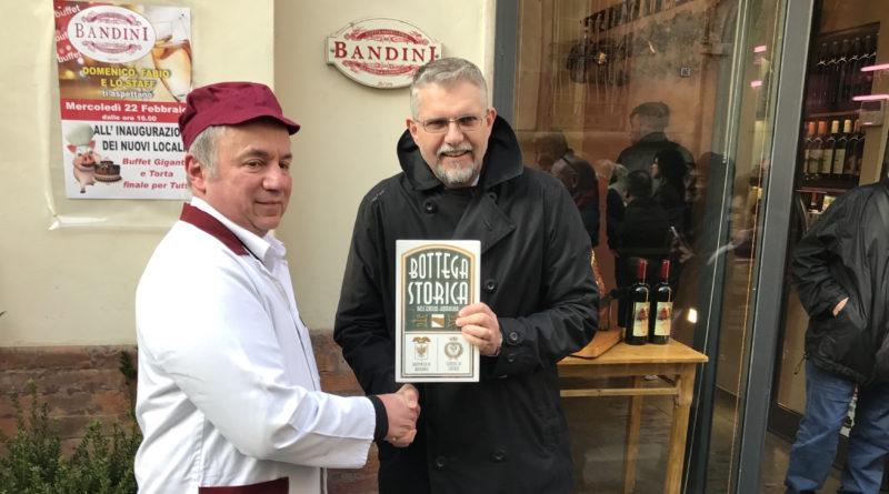 L'Antica Macelleria Bandini diventa bottega storica: fu aperta nel 1954