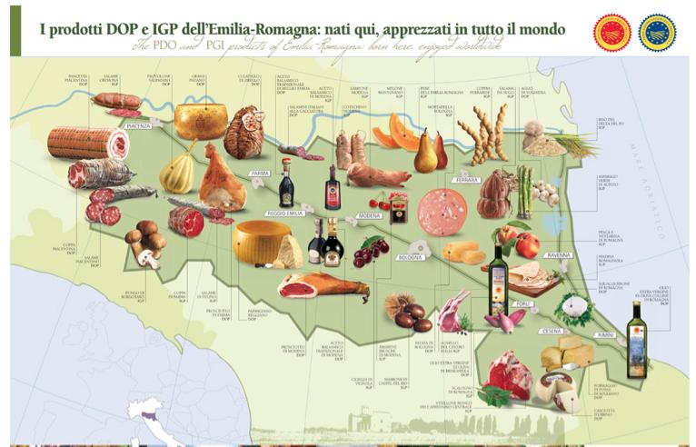 Fonte: Assessorato all'Agricoltura, regione Emilia-Romagna.