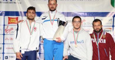 Faenza Lotta podio 80 kg