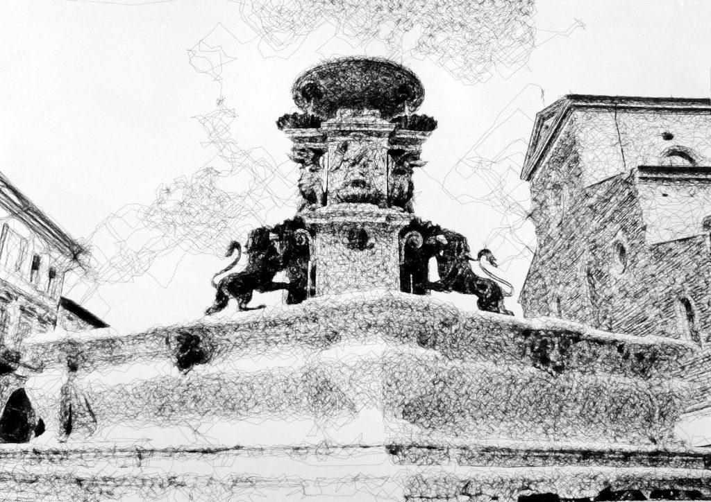 caravaggio fontana faenza