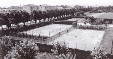Tennis Club Faenza negli anni 50
