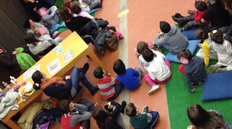 biblioteca letture bambini