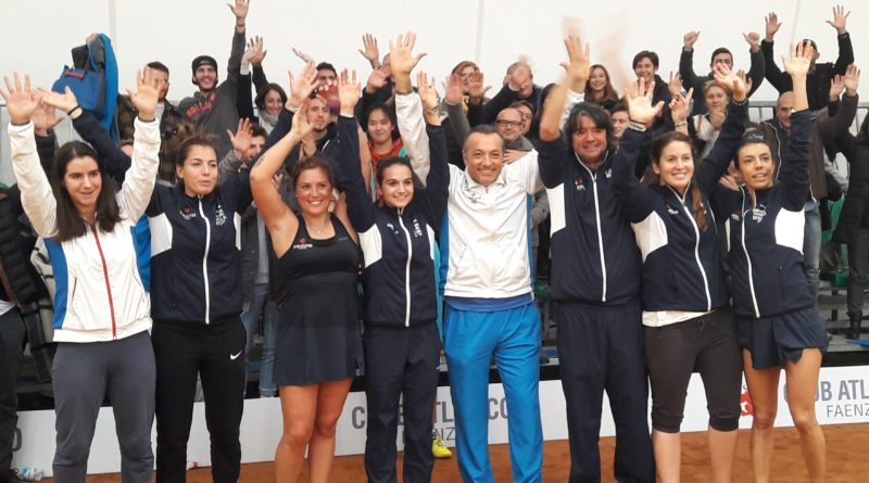 Tennis Club Faenza in finale scudetto