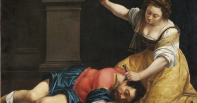 Artemisia Jael and Sisera