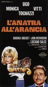L'antra all'arancia - Locandina del film con Ugo Tognazzi e Monica Vitti