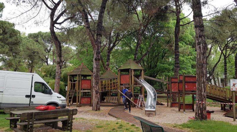 Faenza-Parco della Rocca (inizio lavori)