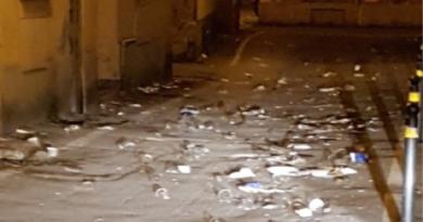 discarica piazza faenza
