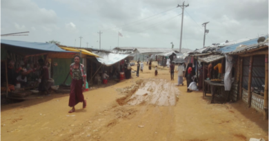 campo profughi myanmar