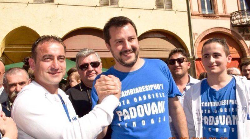Gabriele Padovani e Matteo Salvini