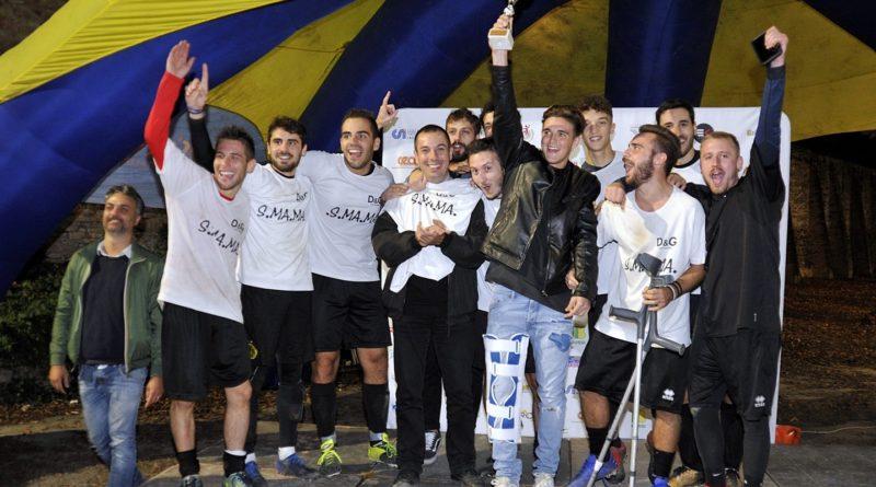 Premiazione Santa Maria Maddalena, primo posto torneo maschile