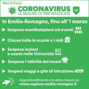 prevenzione coronavirus