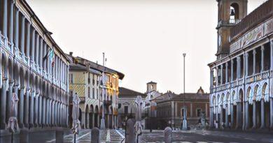 Faenza piazza mosaico