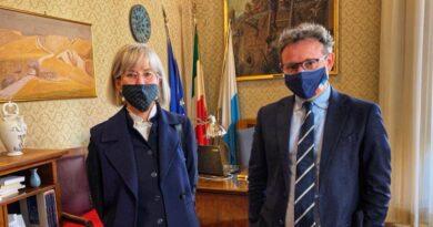 Anna Tampieri e Massimo Isola