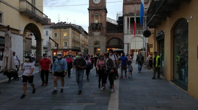 """Partecipanti alla camminata """"Faenza...passo dopo passo"""""""