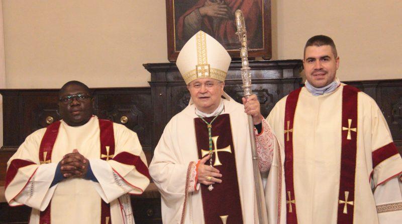 Michel Bom_il vescovo Mario_Emanuele CasadioMichel Bom_il vescovo Mario_Emanuele Casadio